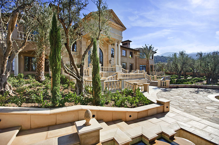 Stunning Luxury Estate Inspired By European Architecture