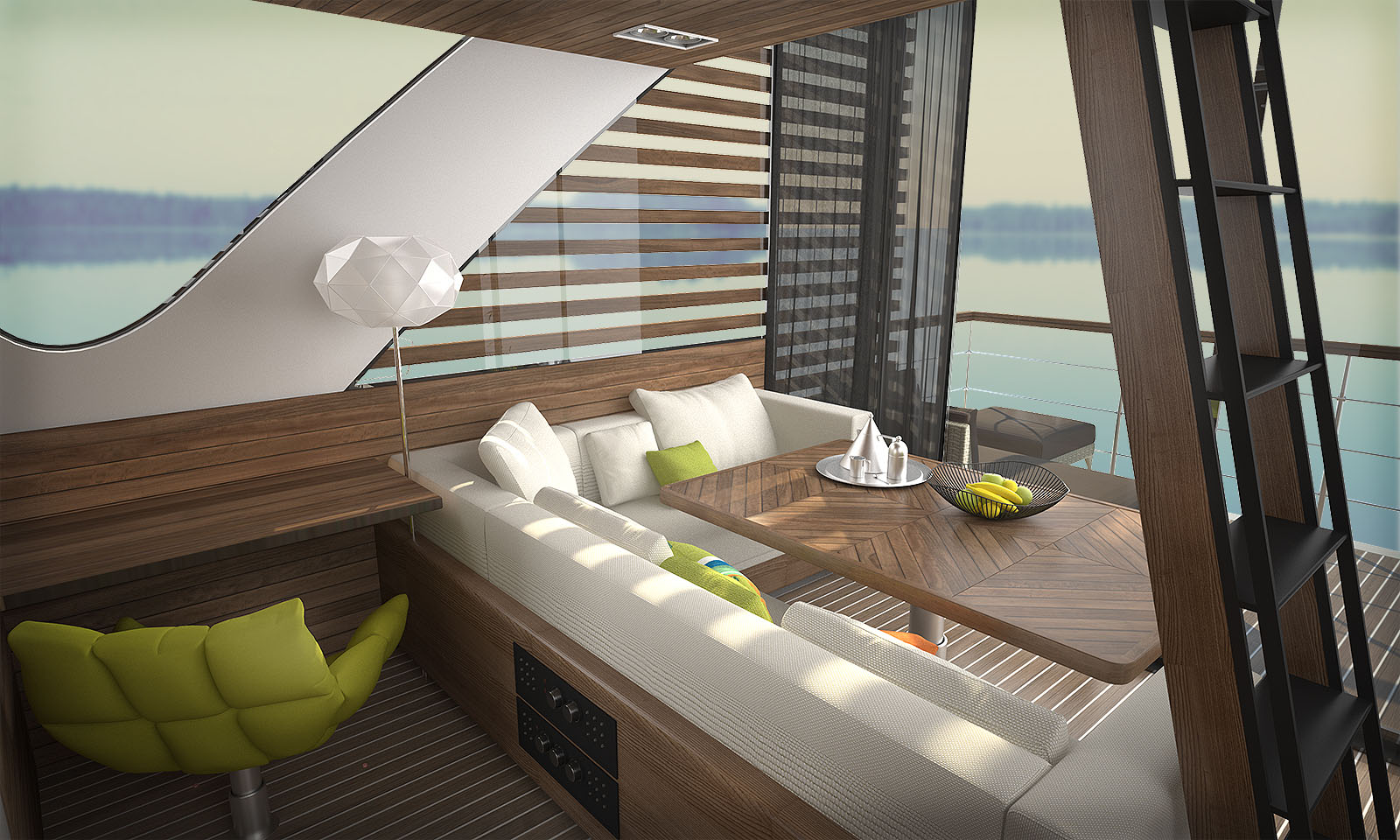 Floating Apartment Interior