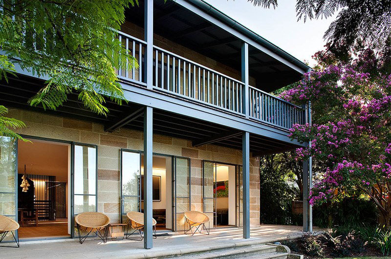Sandstone Heritage Home with Verandah