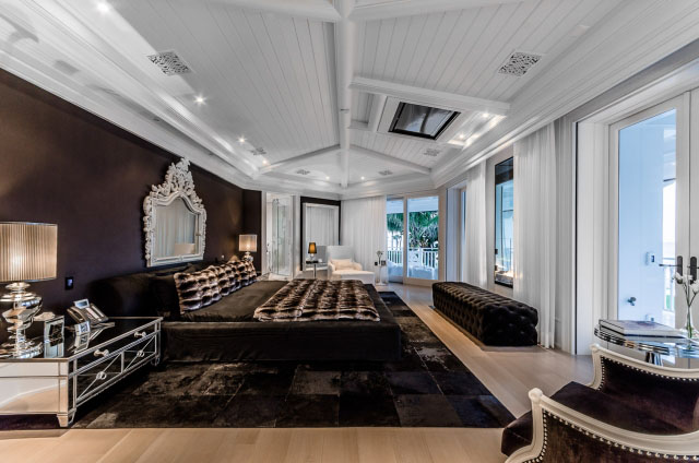 Celine Dion House Master Bedroom