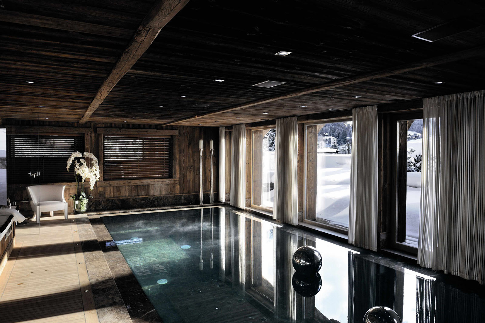 Mountain Chalet Indoor Swimming Pool