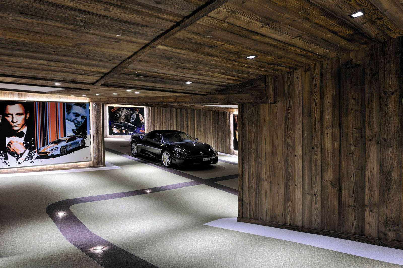 Luxury Basement Garage
