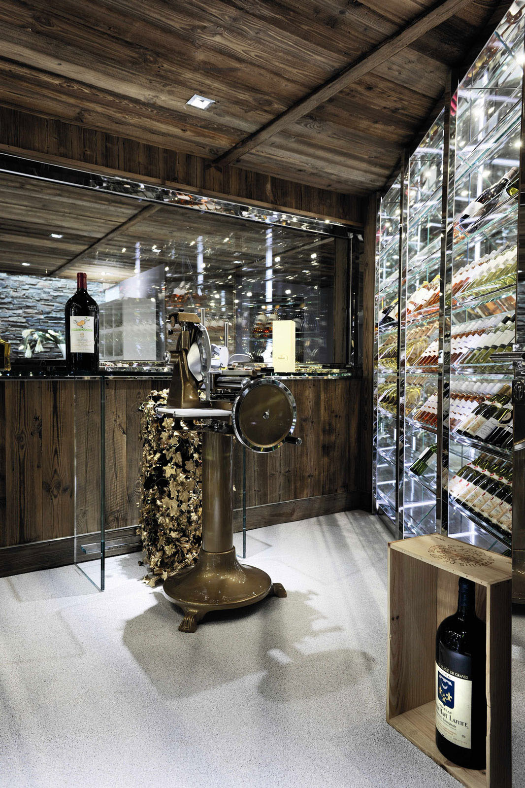 Glass Wine Cabinet