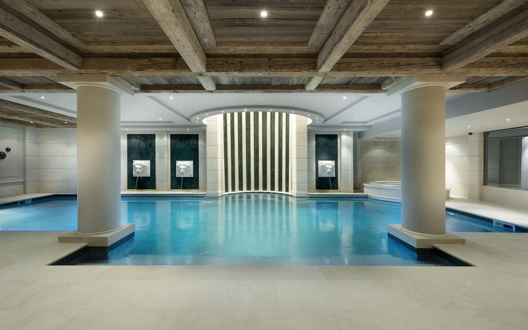 Elegant Private Indoor Swimming Pool