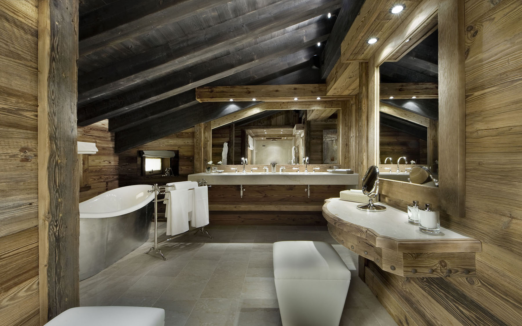 Rustic Elegant Bathroom