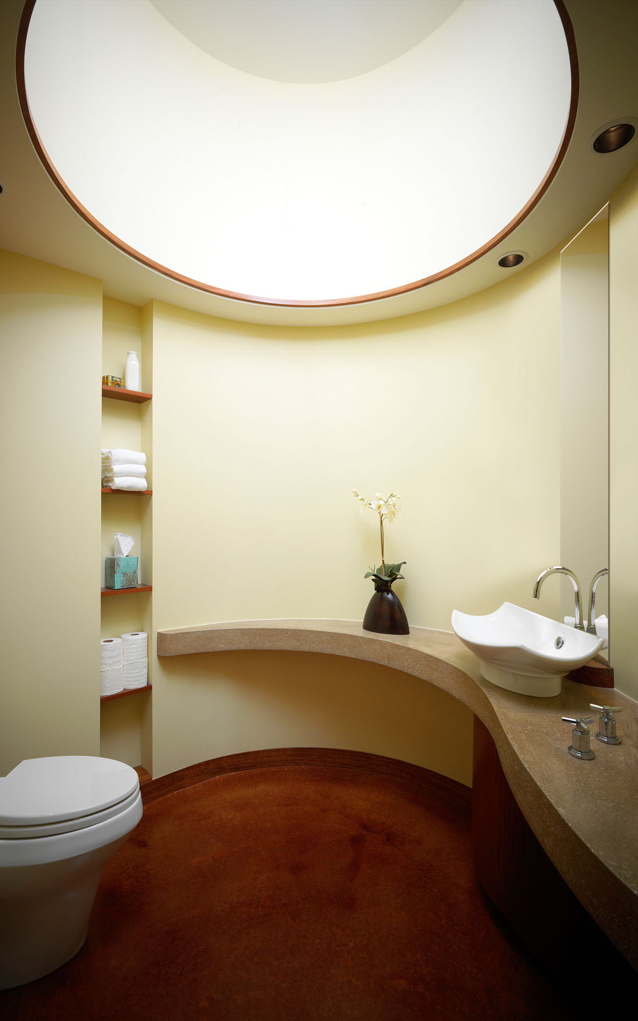 Circular Bathroom