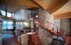 Circular Home Interior Design