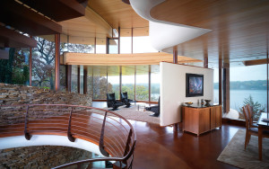 Modern Home with Lake View