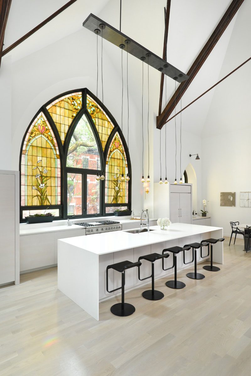 Church Transformed Into Modern Home