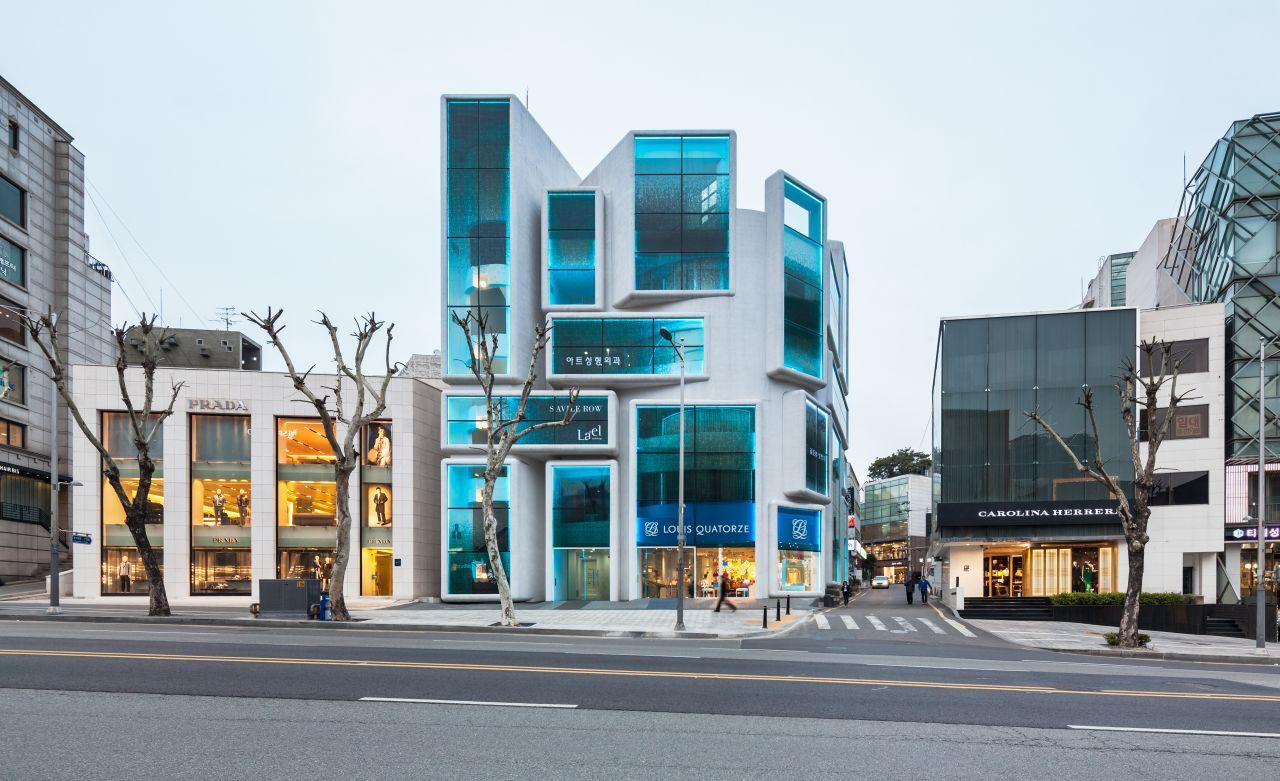 Chungha Commercial Building Seoul Korea