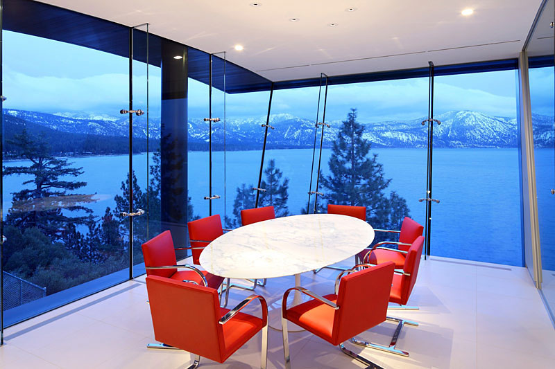 Breathtaking Lake View Cliff House In Lake Tahoe ...