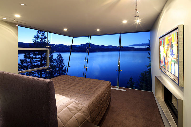 Breathtaking Lake View Cliff House In Lake Tahoe Idesignarch Interior Design Architecture