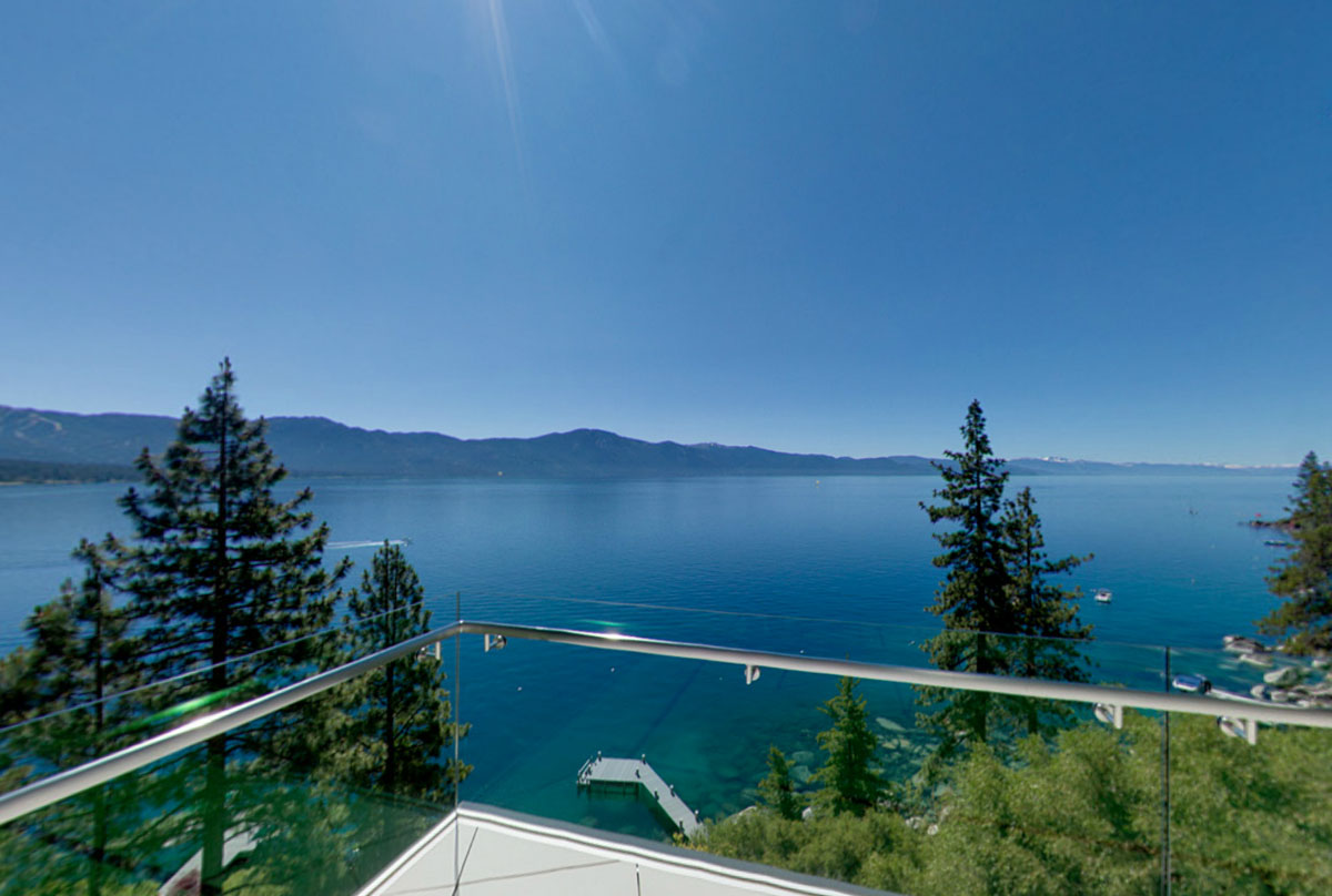 Breathtaking Lake View Cliff House In Lake Tahoe