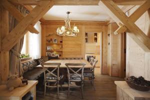 Rustic Contemporary Apartment Interior Design
