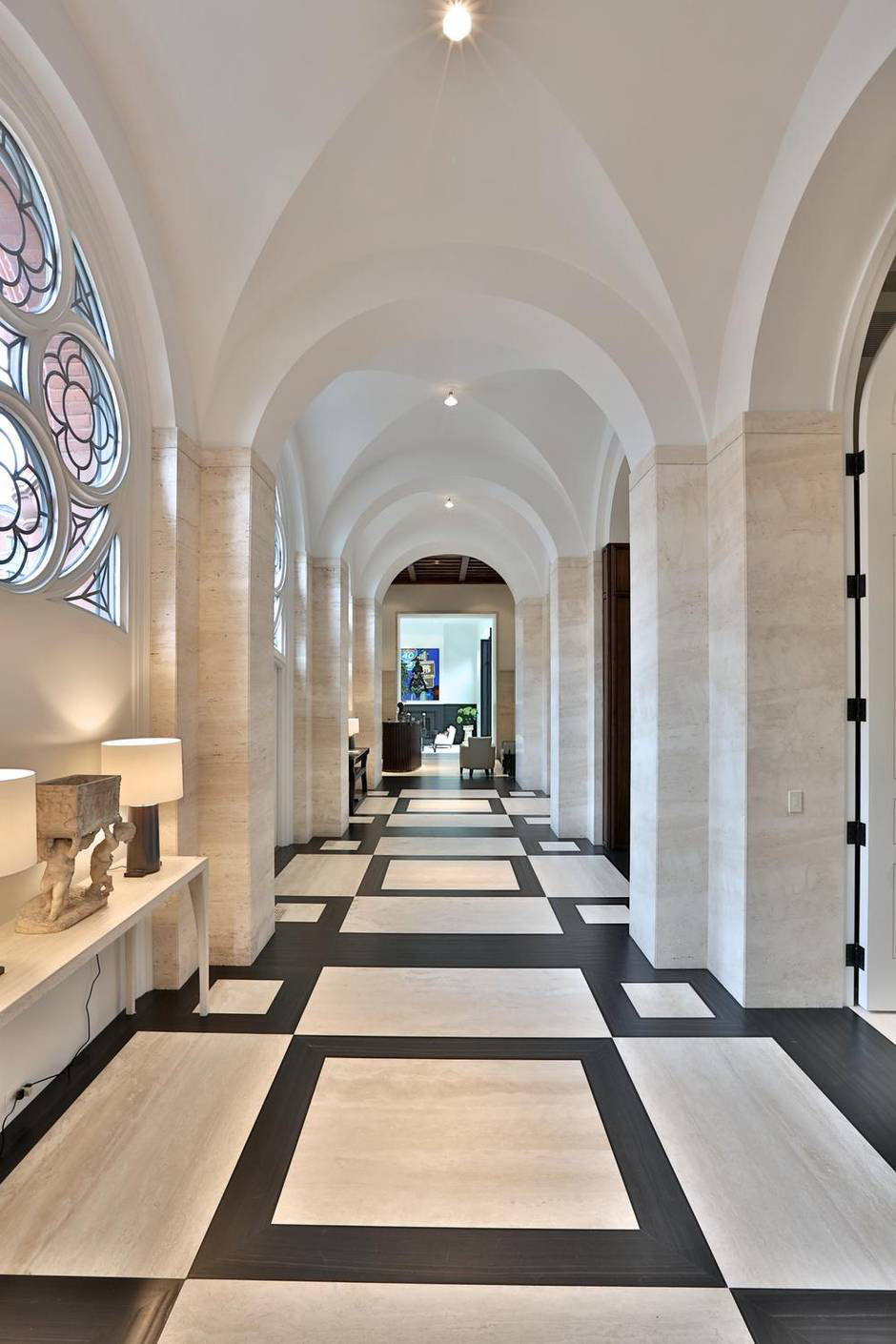 Romanesque Revival Style Former Church Converted Into