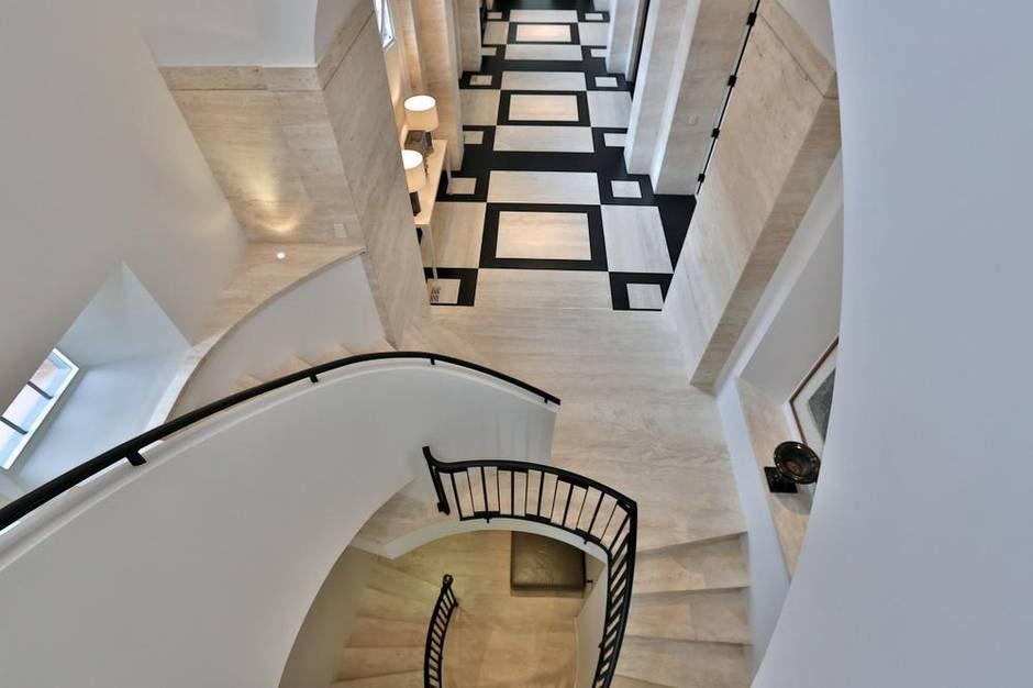 Church Conversion Home Spiral Staircase