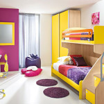 Children's Bedrooms With Bright Cheerful Colours