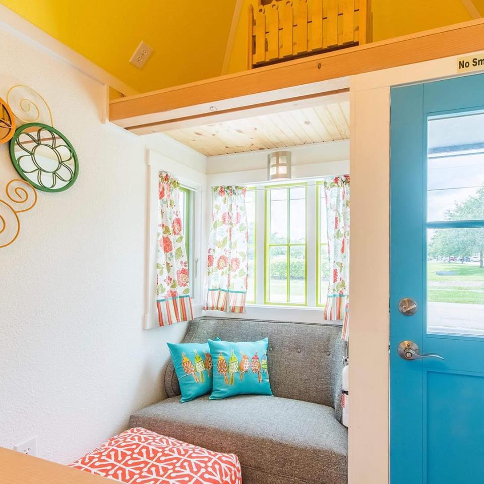 Colorful Tiny House Beach Resort Sarasota Florida 11