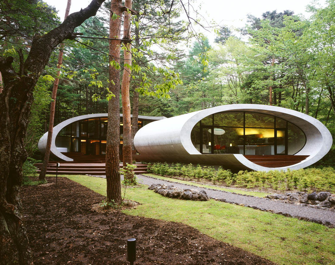 Oval Concrete Villa