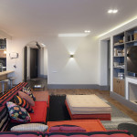 Kiev Apartment With Colourful Accents And Contemporary Chic Decor