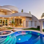 Brazilian Modern House with Curved Lines and Organic Forms