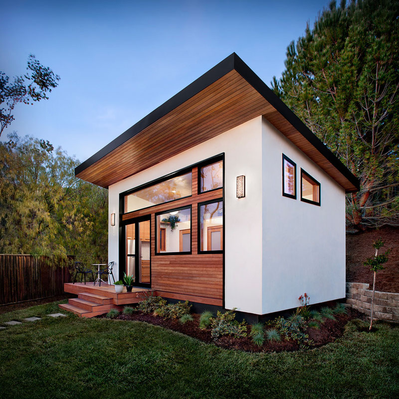 Tiny House Floor Plans - High-Quality Sustainable Prefab Backyard Tiny House IDesignArch