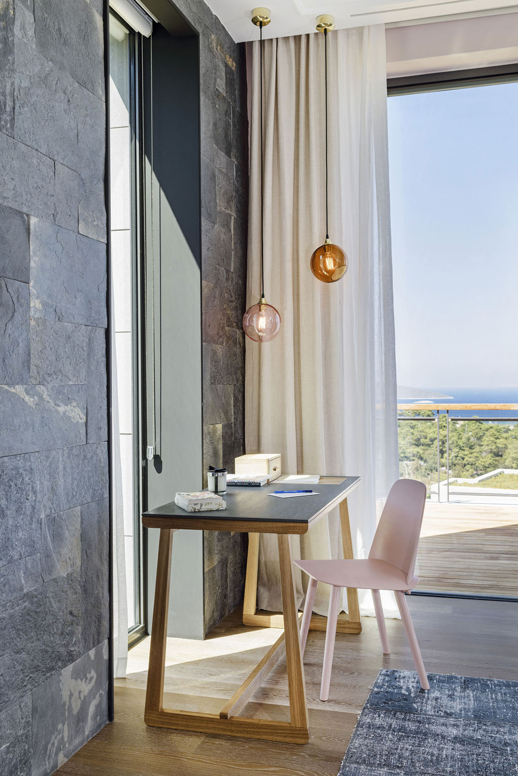 Modern Oceanview Residence In Bodrum With A Simple Elegant