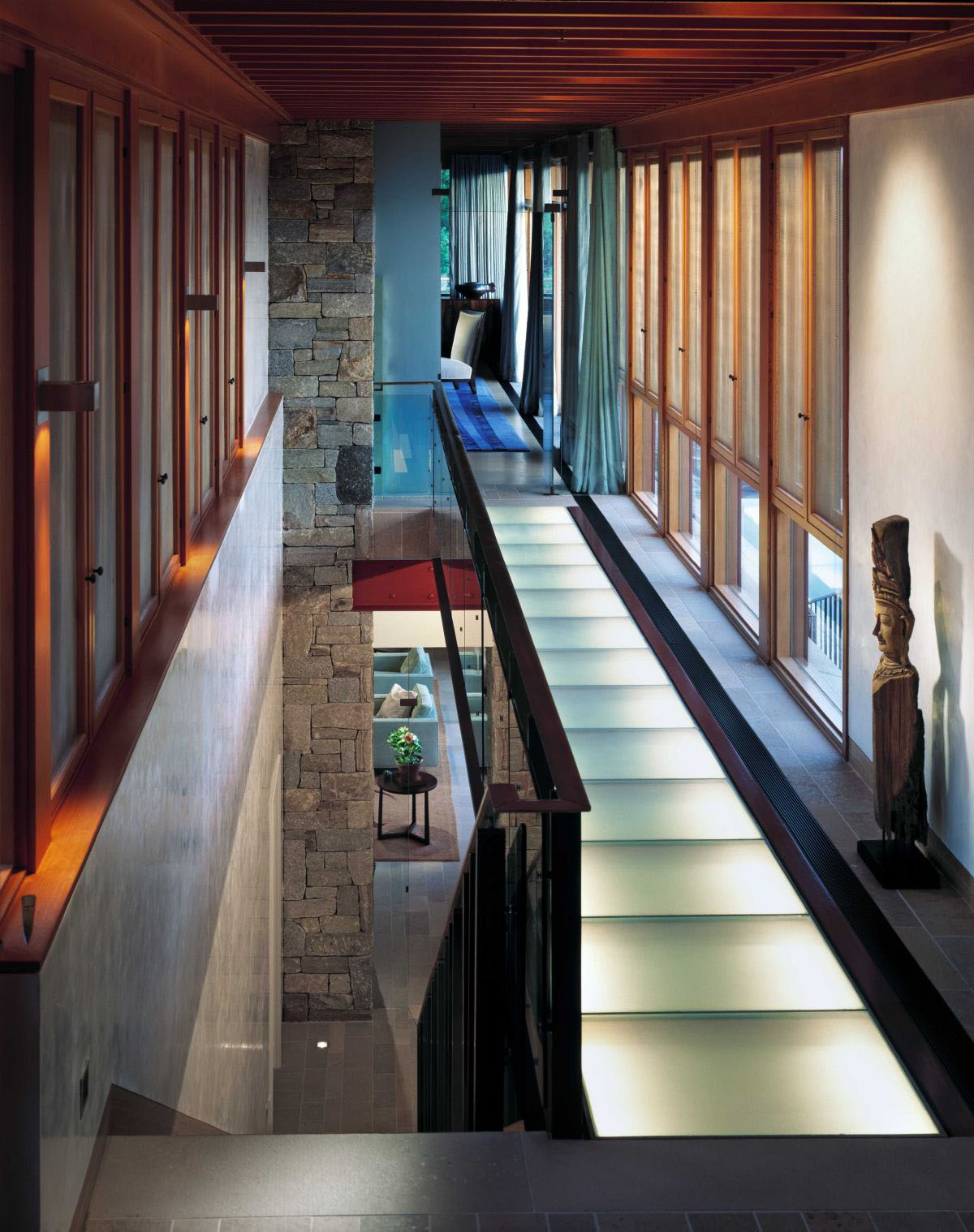 Indoor Glass Bridge