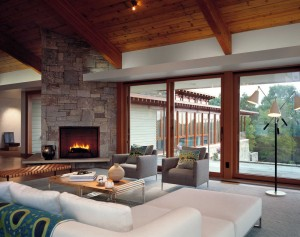 Contemporary Stone House Interiors