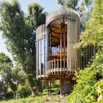 Contemporary Hide-Away Tree House on a Forested Estate