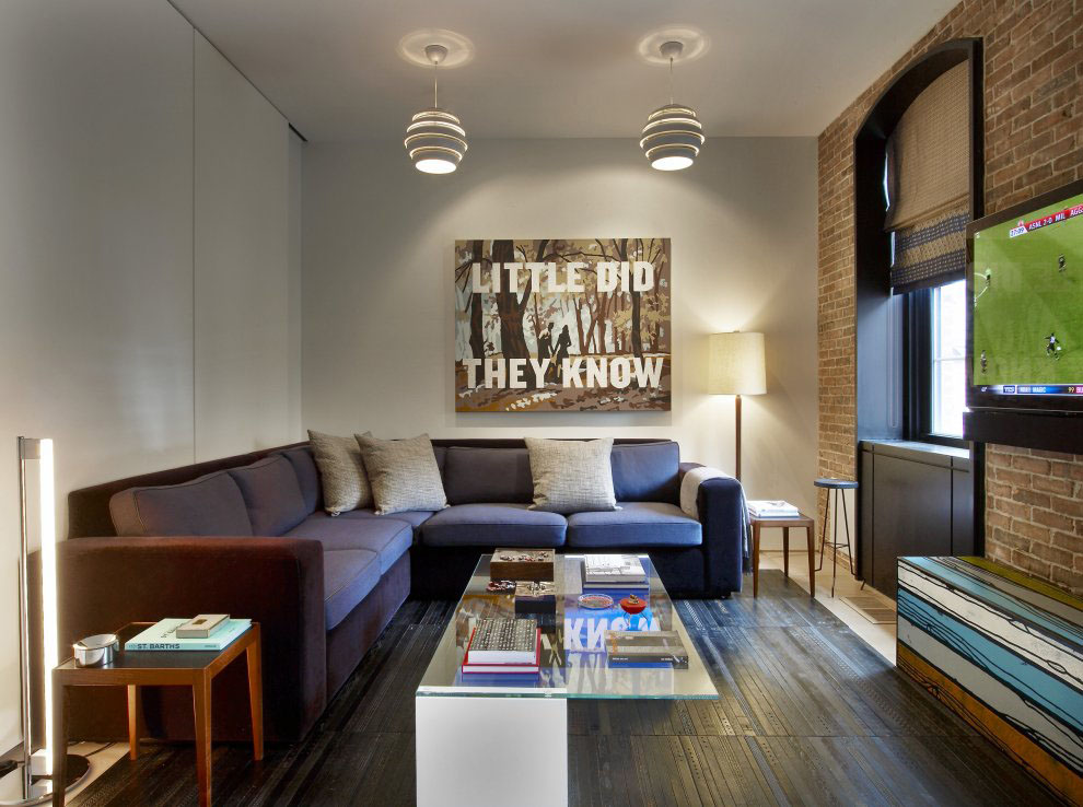 Contemporary Tribeca Apartment In New York City