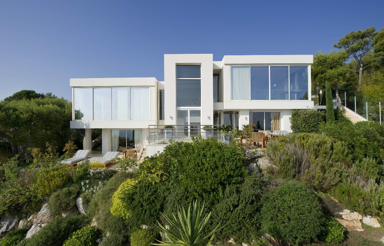 Contemporary Ocean View Villa In C 244 Te D Azur Idesignarch