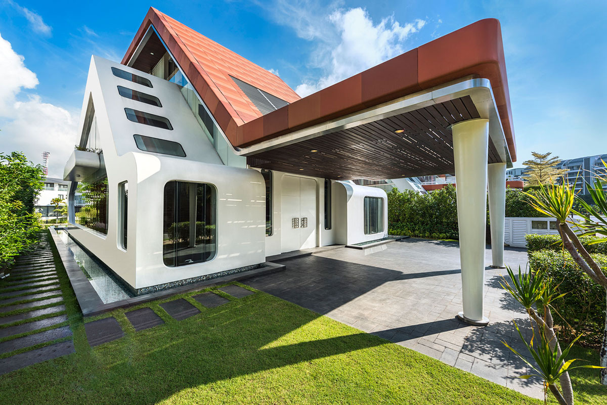 One Of A Kind Modern Residential Villa In Singapore