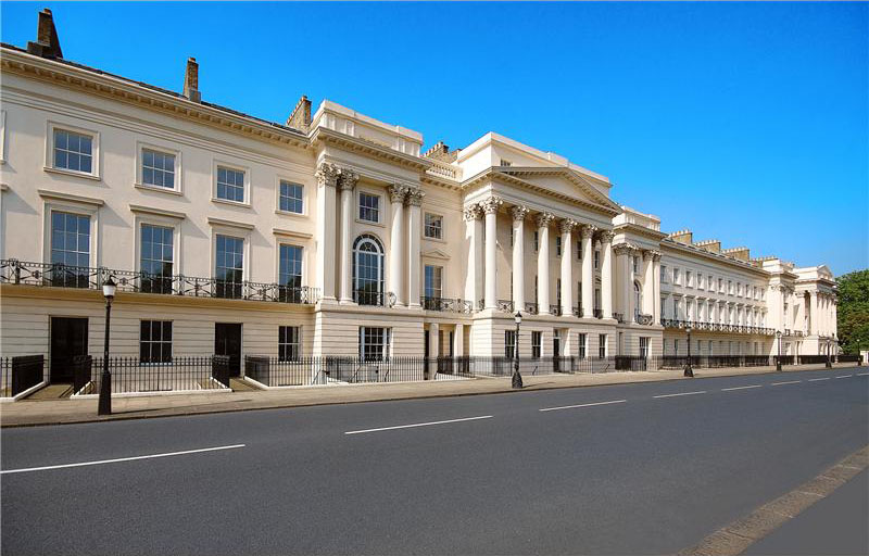 Cornwall Terrace Mansions World S Most Expensive Row Of