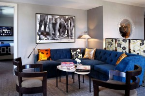 Stylish Modern Hotel Room Interior