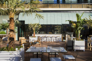Outdoor Terrace Tapas Bar Barcelona