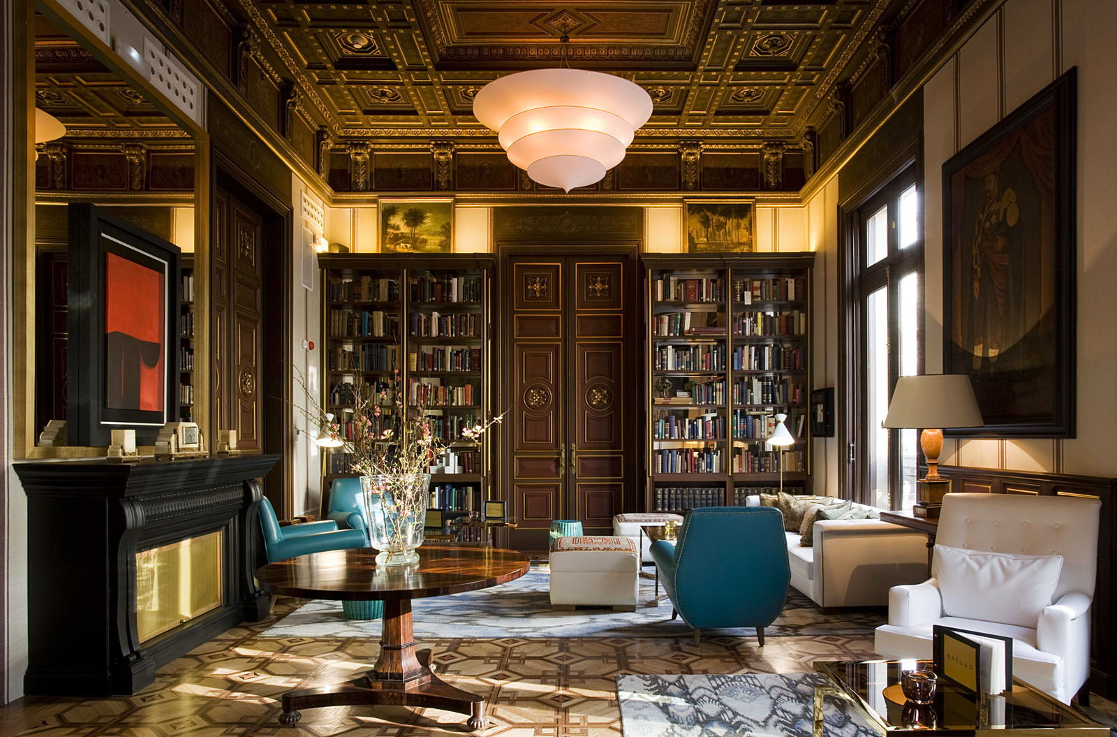 Cotton House Hotel Barcelona Mixes Neoclassical Elements