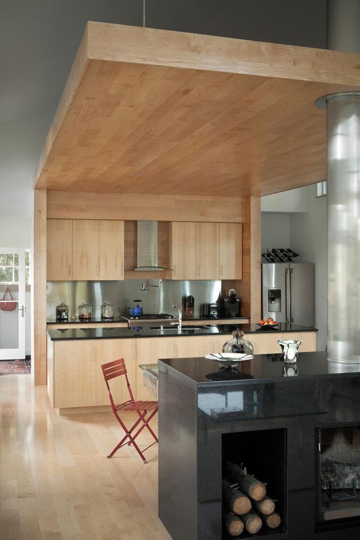 Modern New England Cottage Kitchen