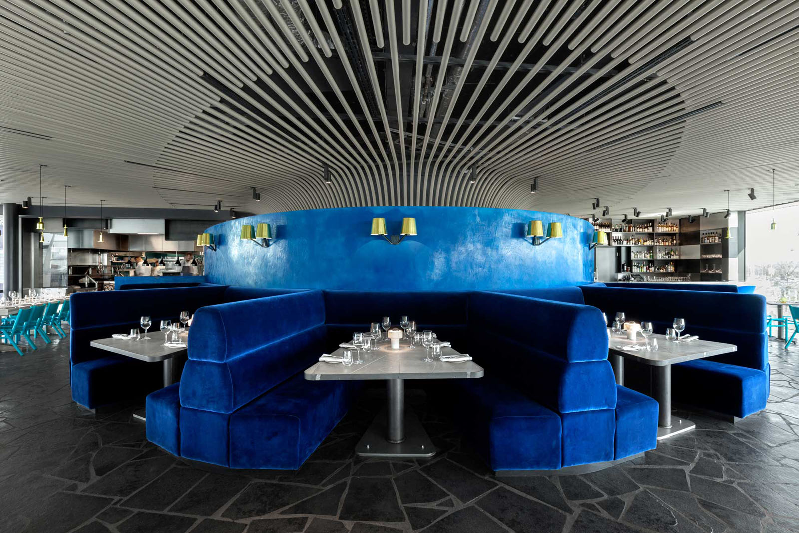 Small Sofas For Bedrooms Craft London Restaurant By Tom Dixon Idesignarch