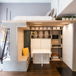 Pre-Fabricated Custom Designed Small Loft In San Francisco