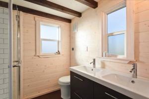 Tiny House Spacious Bathroom