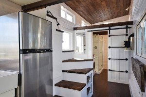 Tiny House with Staircase