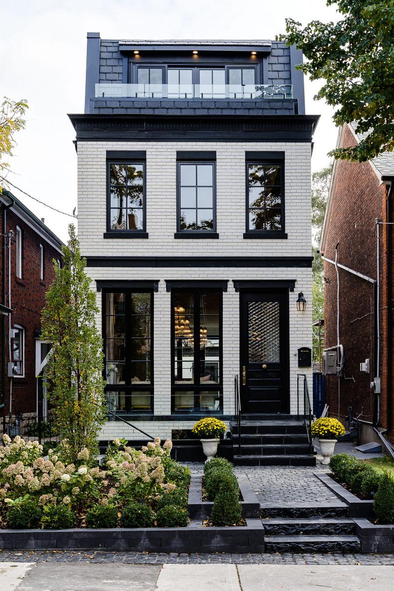 Custom Micro Luxury Home on a Narrow Lot in Toronto  iDesignArch