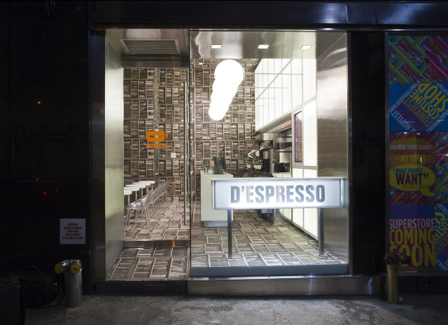 D Espresso Coffee Shop New York Idesignarch Interior