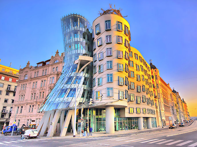 Prague Dancing Building Idesignarch Interior Design
