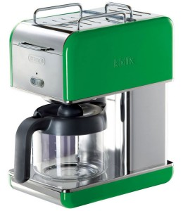 DeLonghi Kmix Green Coffee Maker