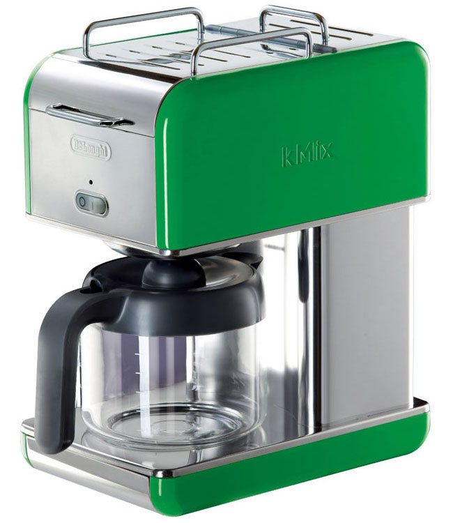 DeLonghi Kmix Green Coffee Maker