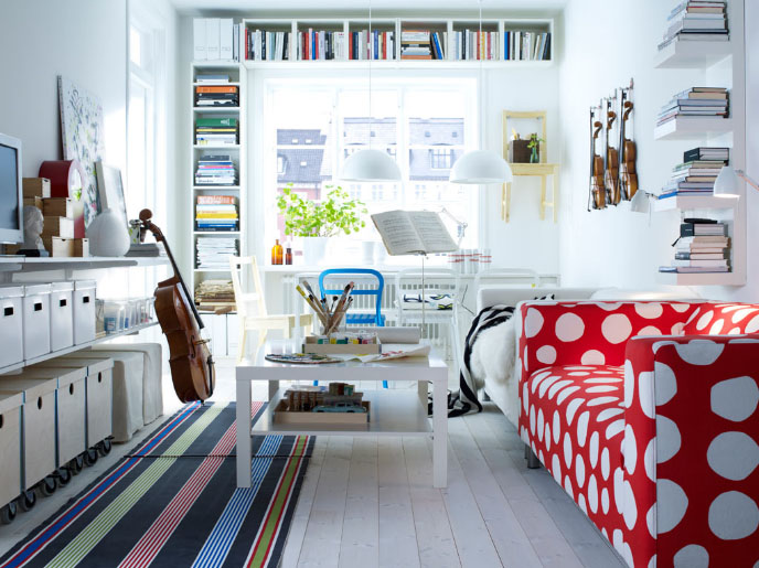 Bon Decorating Ideas For Living Rooms From IKEA