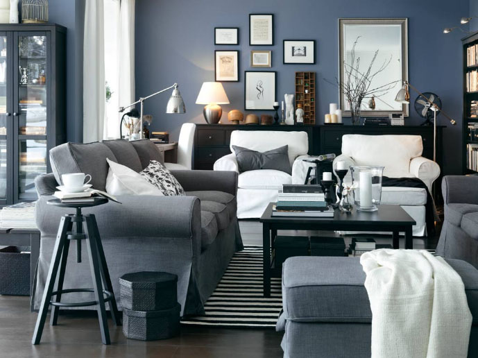 Decorating Ideas For Living Rooms From IKEA | iDesignArch | Interior ...
