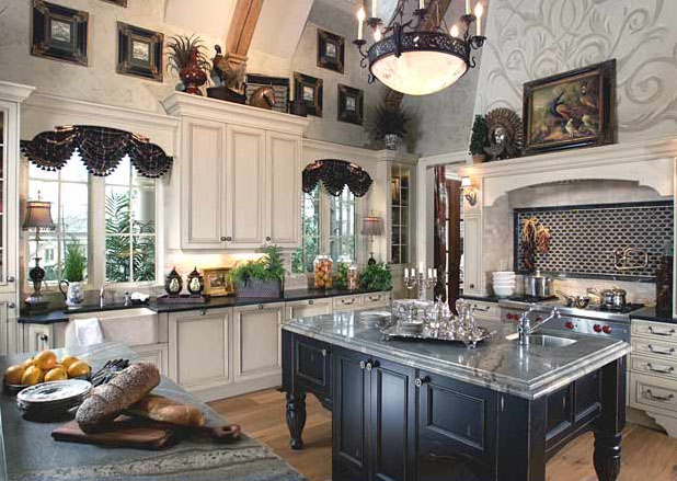 Family Kitchen Design Ideas For Cooking And Entertaining: Timeless Traditional Kitchen Designs